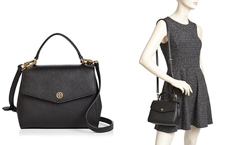 Tory Burch Robinson Small Leather Crossbody - Bloomingdale's_2