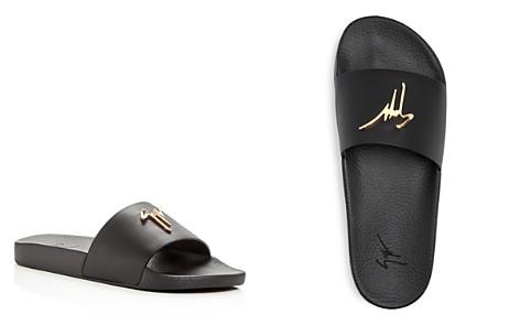 Giuseppe Zanotti Men's Logo Slide Sandals - Bloomingdale's_2