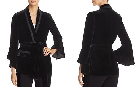 Kobi Halperin Beverly Velvet Bell Sleeve Jacket - Bloomingdale's_2