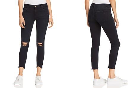 DL1961 Florence Crop Skinny Jeans in Blackstone - Bloomingdale's_2