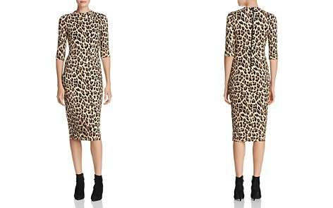 Alice + Olivia Delora Leopard Print Midi Dress - Bloomingdale's_2