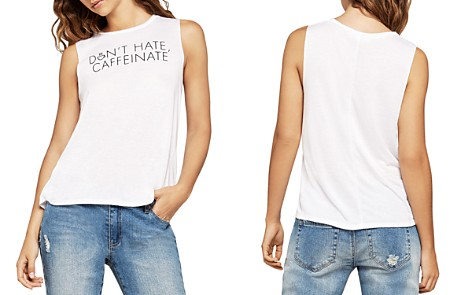 BCBGeneration Don't Hate Muscle Tank - Bloomingdale's_2