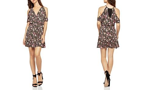 BCBGeneration Cold-Shoulder Floral Print Dress - Bloomingdale's_2