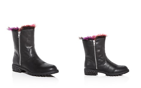 STEVE MADDEN Girls' Northie Faux-Fur Low-Heel Booties - Little Kid, Big Kid - Bloomingdale's_2