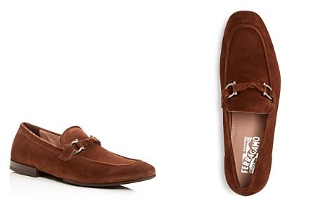 Salvatore Ferragamo Men's Barry Suede Apron Toe Loafers - Bloomingdale's_2