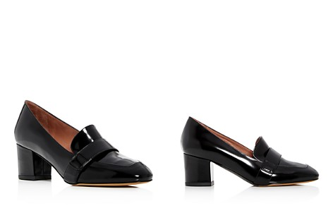 Tabitha Simmons Women's Mika Leather Block-Heel Loafers - Bloomingdale's_2