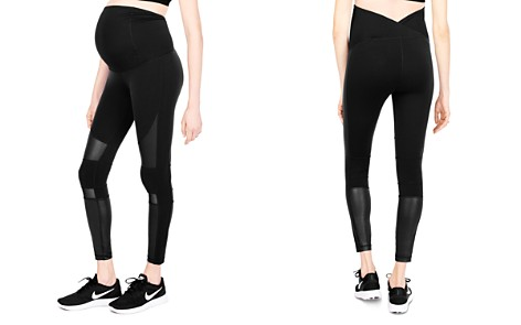 Ingrid & Isabel Maternity Active Moto Leggings - Bloomingdale's_2