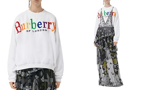 Burberry Embroidered Logo Sweatshirt - Bloomingdale's_2