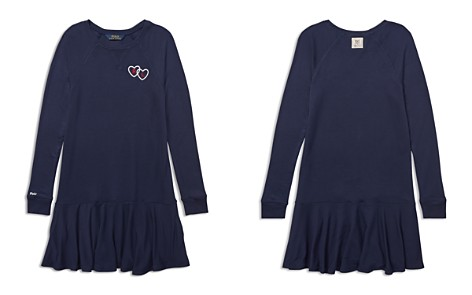 Polo Ralph Lauren Girls' Embroidered French Terry Sweater Dress - Big Kid - Bloomingdale's_2
