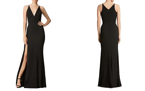 Dress the Population Iris Plunging Fluted Gown - Bloomingdale's_2