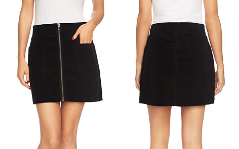 1.STATE Corduroy Zip-Front Mini Skirt - Bloomingdale's_2