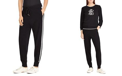 Lauren Ralph Lauren Cashmere Jogger Pants - 100% Exclusive - Bloomingdale's_2