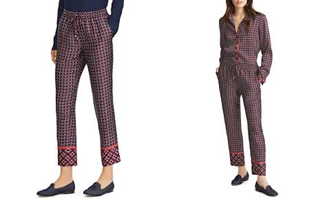 Lauren Ralph Lauren Geometric Print Drawstring Pants - Bloomingdale's_2