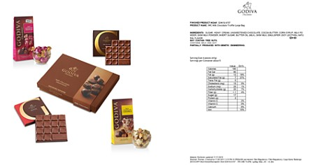 Godiva® Milk Chocolate Lovers Tasting Gift Set - Bloomingdale's_2