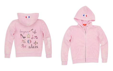 Butter Girls' Mineral Wash Embellished Paris Hoodie - Little Kid - Bloomingdale's_2