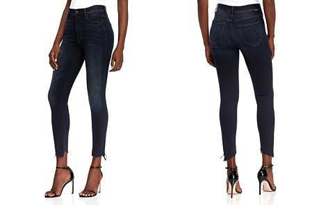 MOTHER Stunner Frayed Step-Hem Skinny Jeans in Last Call - Bloomingdale's_2