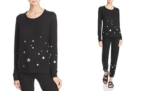 CHASER Glitter Star Sweatshirt - Bloomingdale's_2