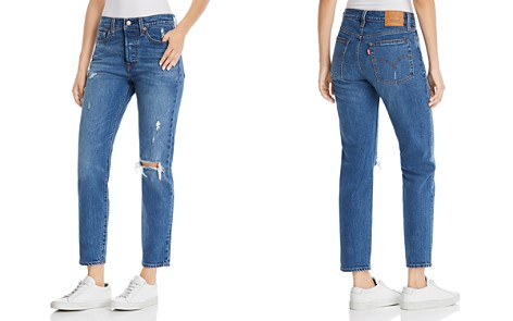 Levi's Wedgie Icon Fit Straight Jeans in Higher Love - Bloomingdale's_2