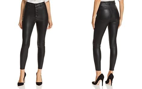 Alice + Olivia Mikah Leather Pants - Bloomingdale's_2