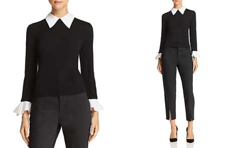 Alice + Olivia Aster Layered-Look Sweater - Bloomingdale's_2