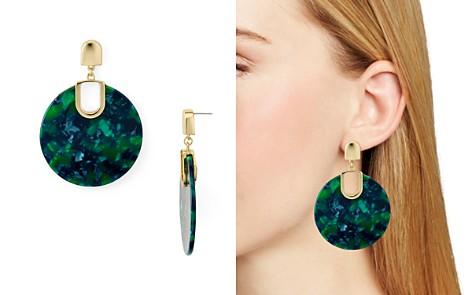 AQUA Marled Disc Drop Earrings - 100% Exclusive - Bloomingdale's_2