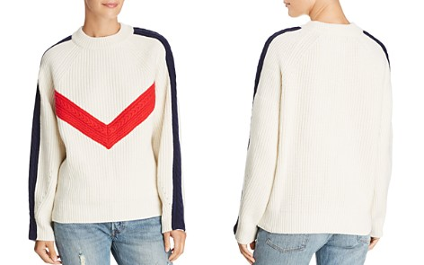 SJYP Color-Blocked Wool Sweater - Bloomingdale's_2