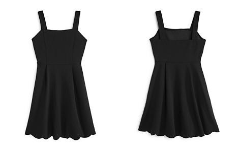 AQUA Girls' Square-Neck Scalloped-Hem Dress, Big Kid - 100% Exclusive - Bloomingdale's_2