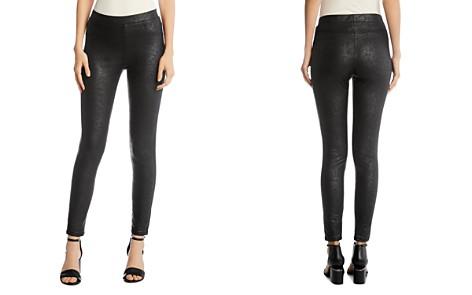 Karen Kane Faux Leather Legging Pants - Bloomingdale's_2