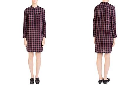 Gerard Darel Aurora Plaid Shirt Dress - Bloomingdale's_2