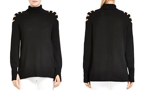 HALSTON HERITAGE Cutout Turtleneck Sweater - Bloomingdale's_2