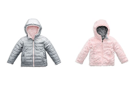 The North Face® Girls' Reversible Mossbud Swirl Quilted & Fleece Jacket - Little Kid - Bloomingdale's_2