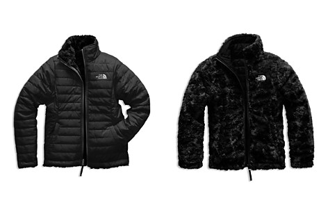 The North Face® Girls' Reversible Mossbud Swirl Quilted & Fleece Jacket - Big Kid, Little Kid - Bloomingdale's_2