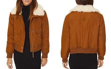 Sanctuary Faux-Fur Collar Aviator Jacket - Bloomingdale's_2
