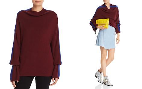 Splendid Color Block Stripe Sweater - Bloomingdale's_2