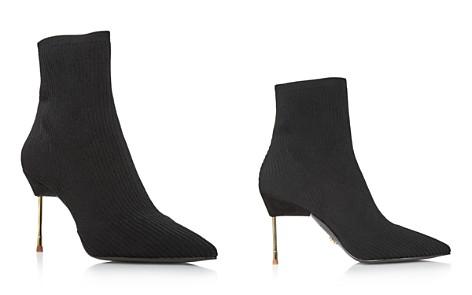 Kurt Geiger Women's Barbican Pointed Toe Knit Booties - Bloomingdale's_2