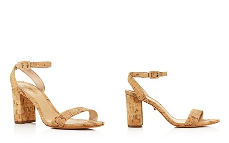 SCHUTZ Women's Bebethy Cork Ankle Strap Sandals - Bloomingdale's_2