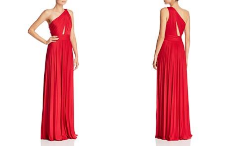 Jill Jill Stuart Pleated One-Shoulder Gown - Bloomingdale's_2