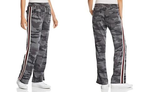 Splendid Track Stripe Raw-Edge Camo Sweatpants - 100% Exclusive - Bloomingdale's_2