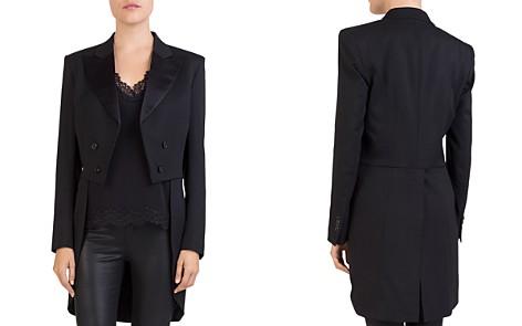 The Kooples Open-Front Tailcoat Blazer - Bloomingdale's_2