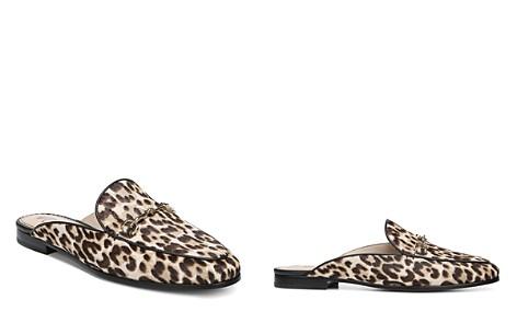 Sam Edelman Women's Linnie Leopard Print Calf Hair Mules - Bloomingdale's_2