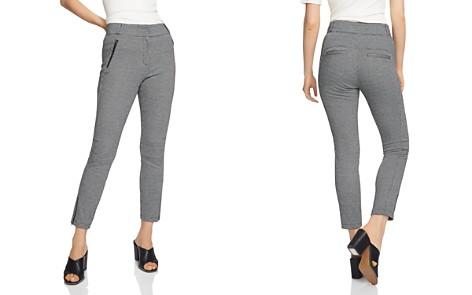 1.STATE Mini Houndstooth Slim Pants - Bloomingdale's_2