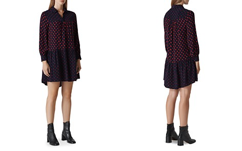 Whistles Molly Spot Mix Dress - Bloomingdale's_2