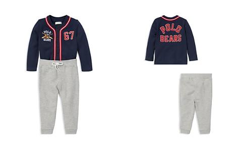 Ralph Lauren Boys' Polo Bear Baseball Jersey & Sweatpants Set - Baby - Bloomingdale's_2