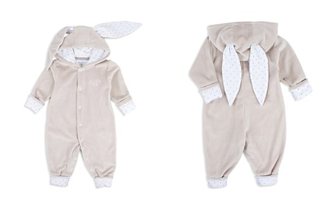 Livly Unisex Velour Hooded Romper with Bunny Ears - Baby - Bloomingdale's_2