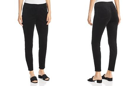 Eileen Fisher Corduroy Legging Jeans in Black - Bloomingdale's_2