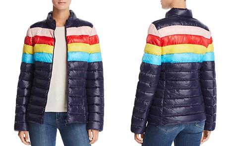 AQUA Packable Rainbow-Stripe Puffer Coat - 100% Exclusive - Bloomingdale's_2