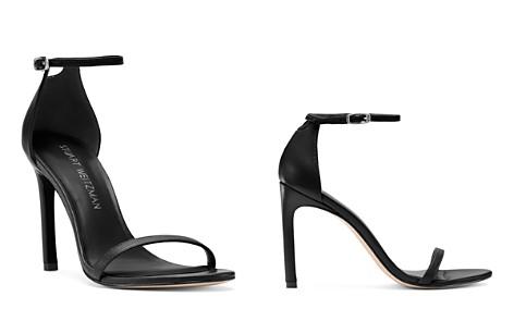 Stuart Weitzman Women's Nudistsong Patent Leather High-Heel Sandals - Bloomingdale's_2