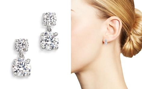 Bloomingdale's Diamond Mini Drop Earrings in 14K White Gold, 2.0 ct. t.w. - 100% Exclusive_2