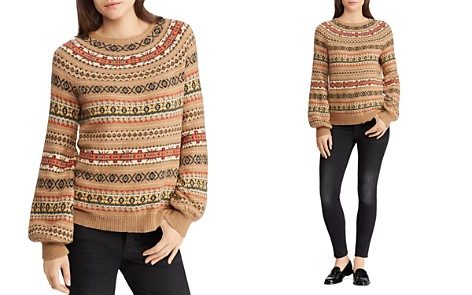 Lauren Ralph Lauren Fair Isle Intarsia Sweater - 100% Exclusive - Bloomingdale's_2