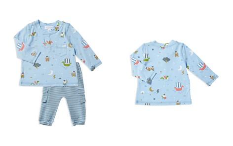 Angel Dear Boys' Viking Henley Top & Stripe Pants Set - Baby - Bloomingdale's_2